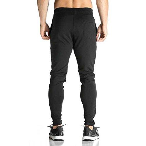 broki herren gym fitness jogger trainingsanzug slim fit. Black Bedroom Furniture Sets. Home Design Ideas
