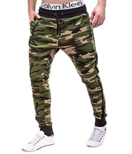 Jogginghose mit Camouflage
